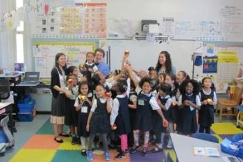 Oprah Visits New York's Public Prep Charter Schools