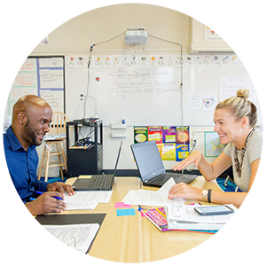 To promote best practices and foster a network-wide growth mindset, school teams work in a highly collaborative environment, with weekly in-school professional development sessions as well as network-wide Days of Learning.
