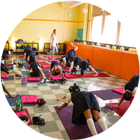 New York Elementary School with Yoga