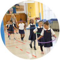 Physical Education at Public Prep All Girls Schools in Lower East Side